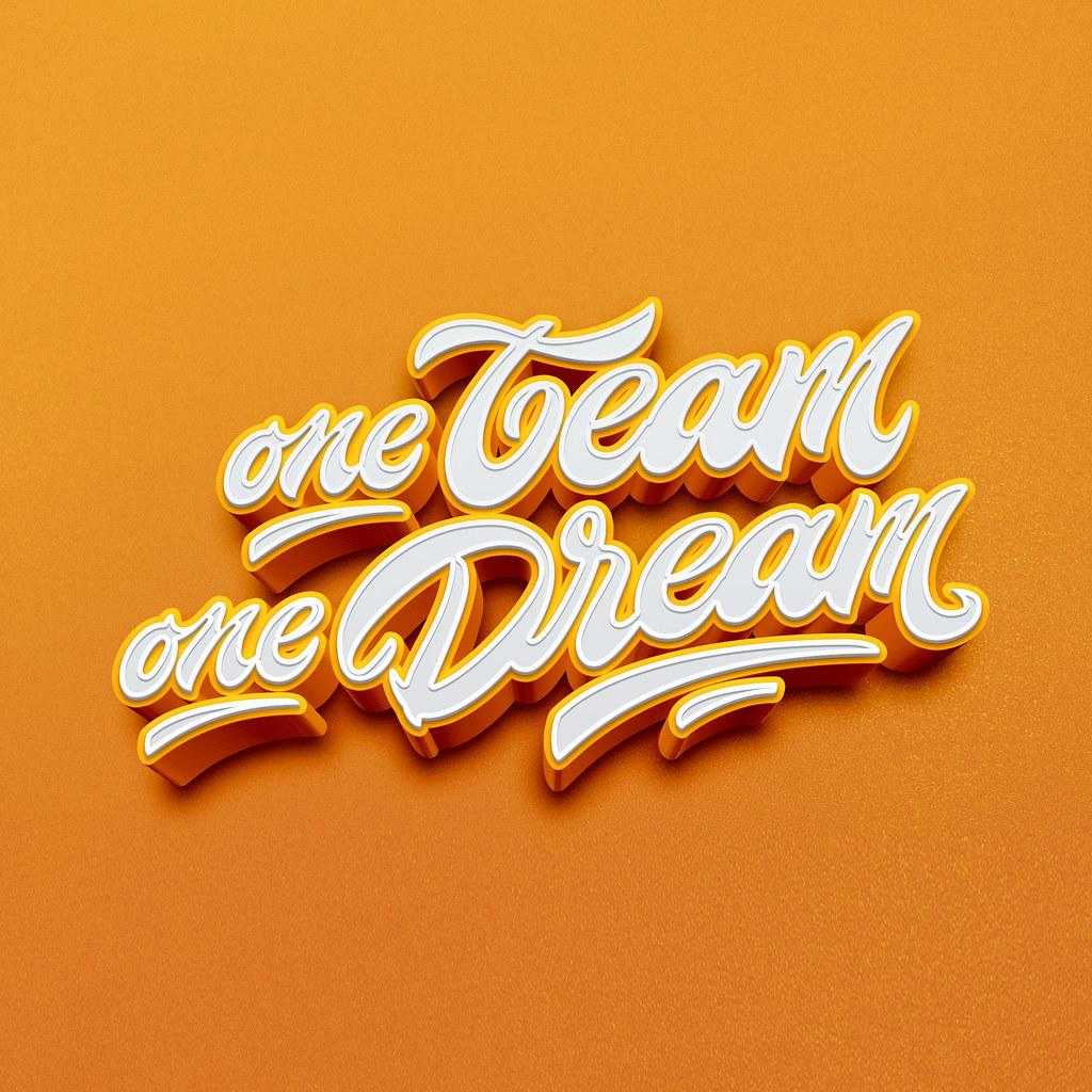 Anonymoousvictorz: One Dream One Team Logo