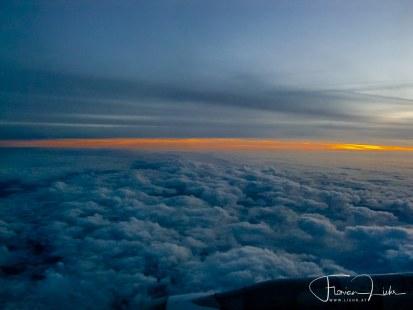 Rückflug - Wolkenbild