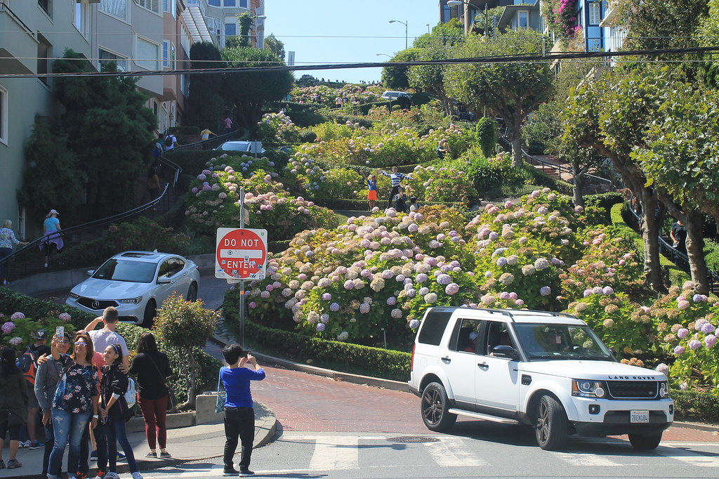 Qué ver en San Francisco: Lombard Street