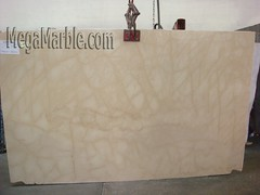 Marble Slab Crema Calacatta Manhattan