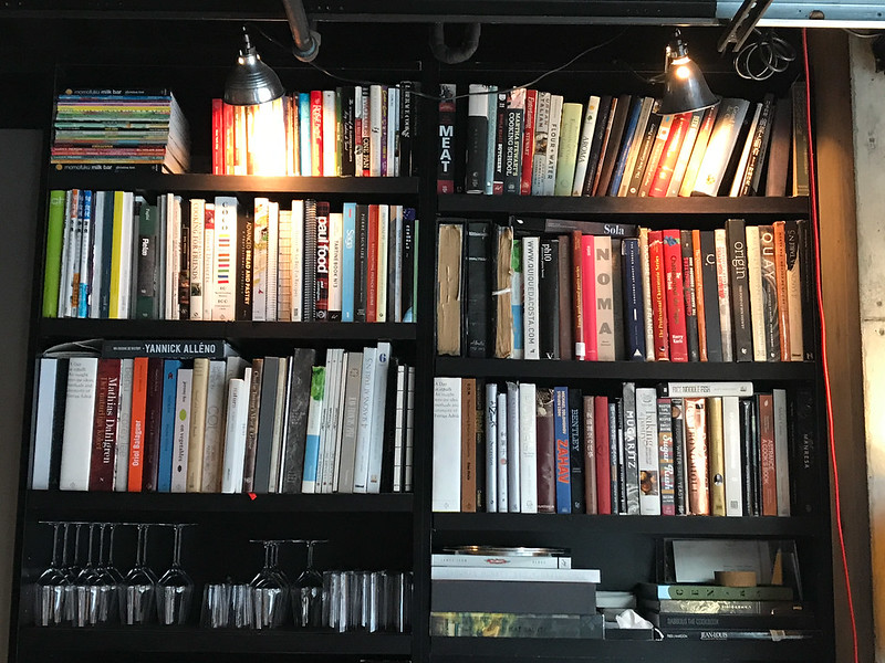 Books at Momofuku Ko