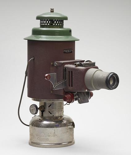 Kerosene Slide Projector