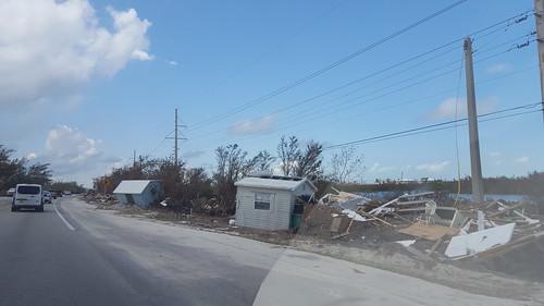 Debris in Islamorada