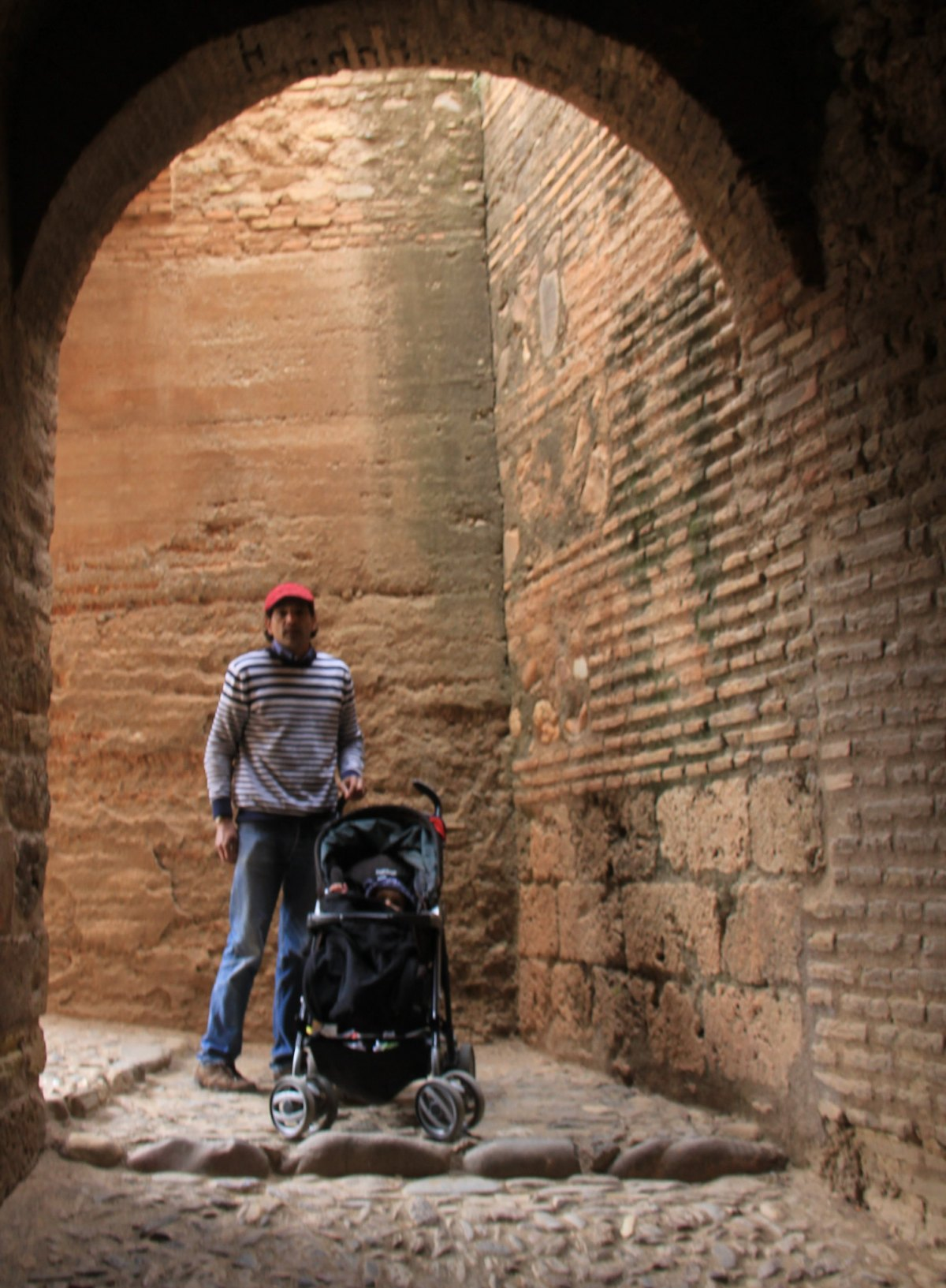 Alcazaba is the oldest part of Alhambra