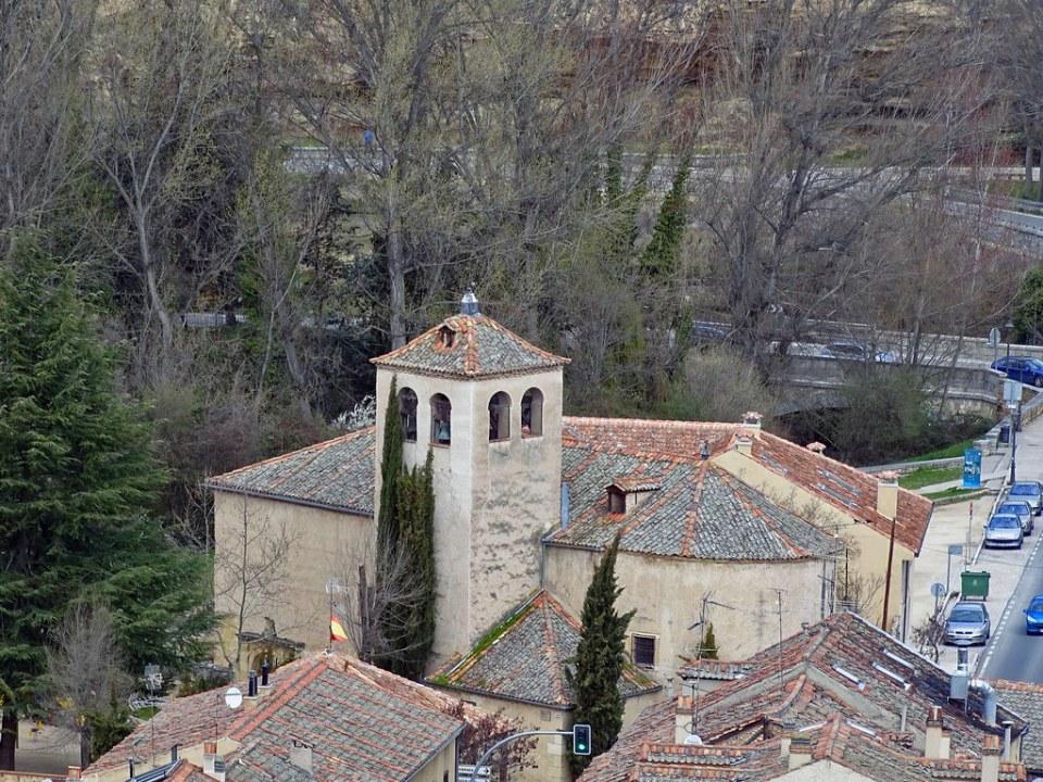 Segovia exterior Iglesia de San Marcos