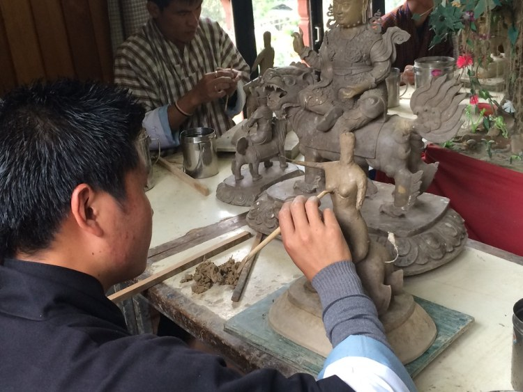 Bhutan Sculpting