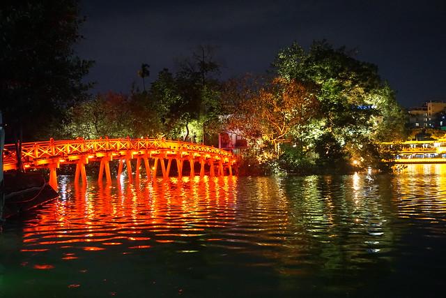 Huc Bridge - Hanoi