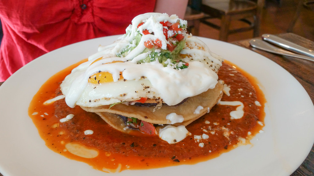 Huevos Rancheros at On Point Bistro
