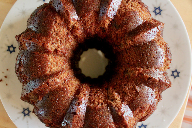 Apple Orange Rye Honey Cake - 13