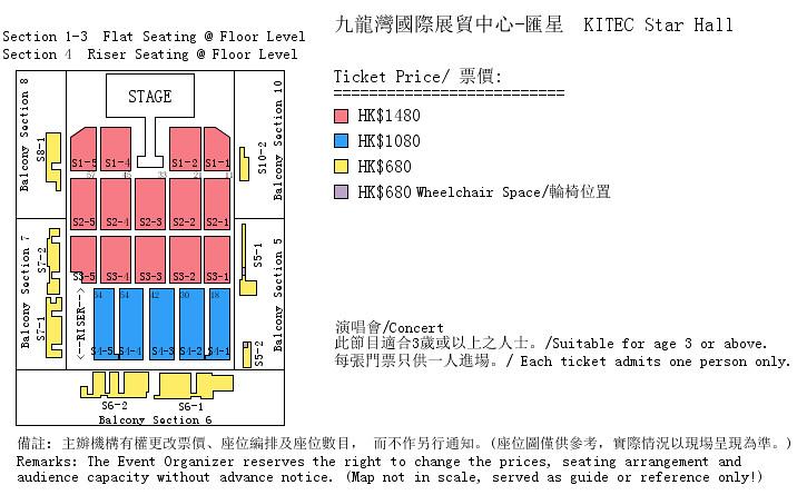 Jessica in Hong Kong Seating Plan