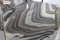 Marble Slab Mercury Black