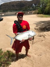 Hey Gary Bouvey Bradbury Lifeguard Aloha