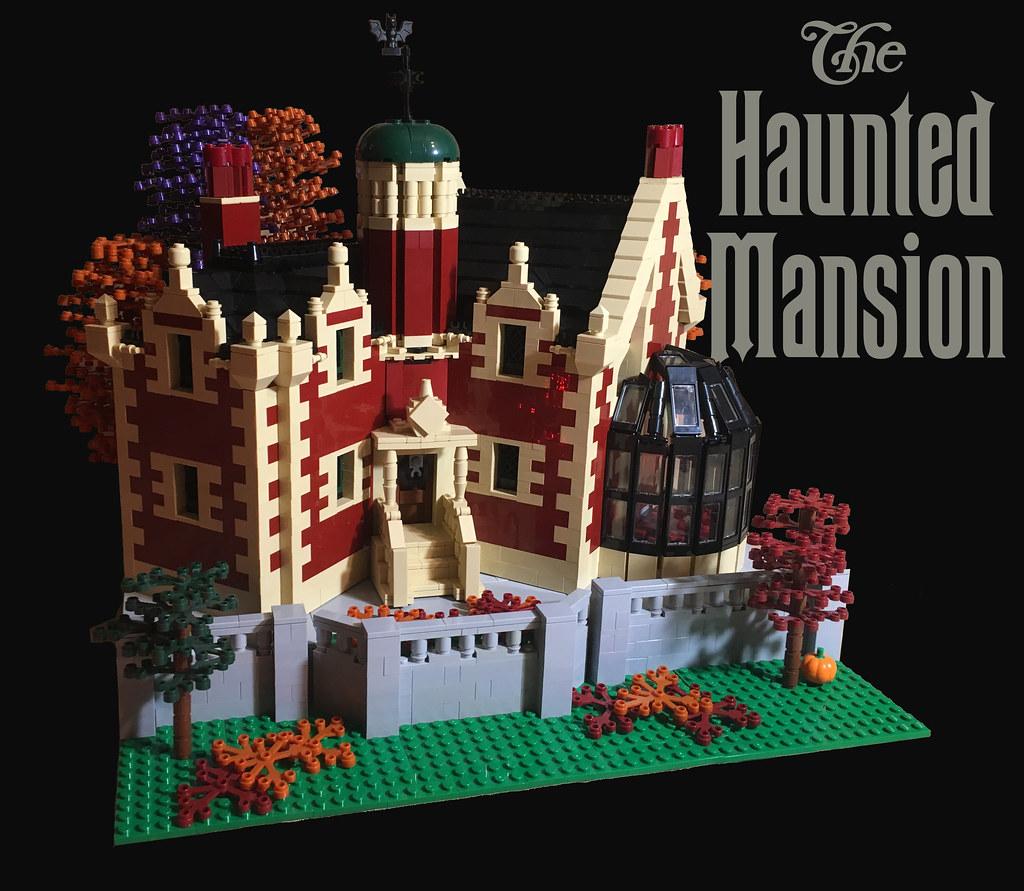 Lego Disney S Haunted Mansion Walt Disney World