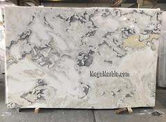 Caribbean Island 3cm marble slabs for countertops