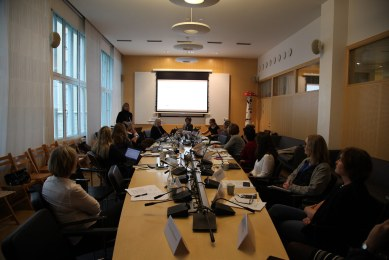 Expert Group Meeting Stockholm