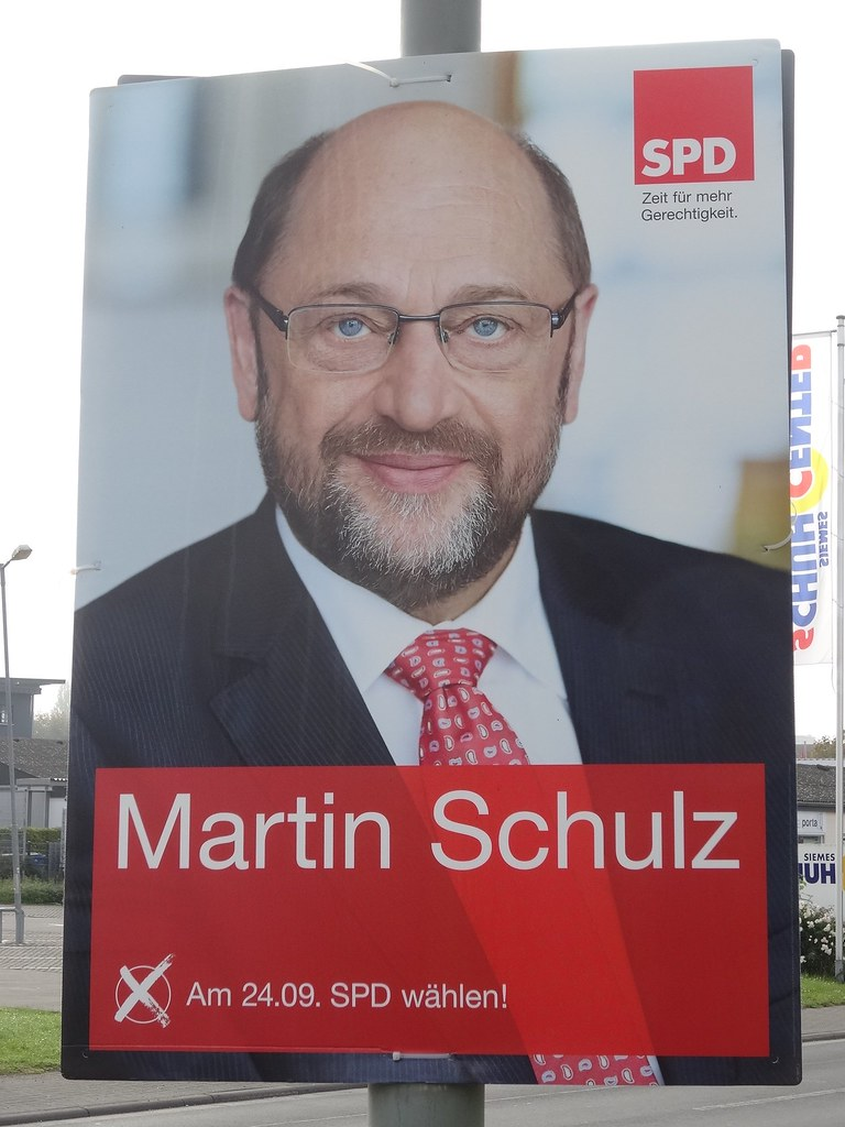 spd election poster yesterday