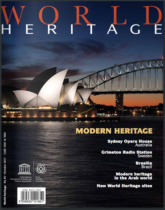 World Heritage and Modern Heritage