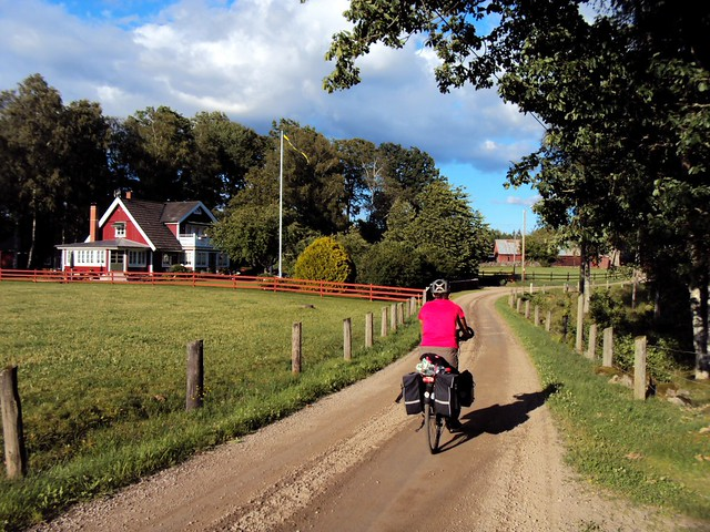 This is a typical bicycle-touring-Sweden photo. by bryandkeith on flickr