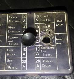 1971 datsun 240z fuse box likes to overheat and melt flickr 1971 datsun 240z fuse box [ 1024 x 768 Pixel ]