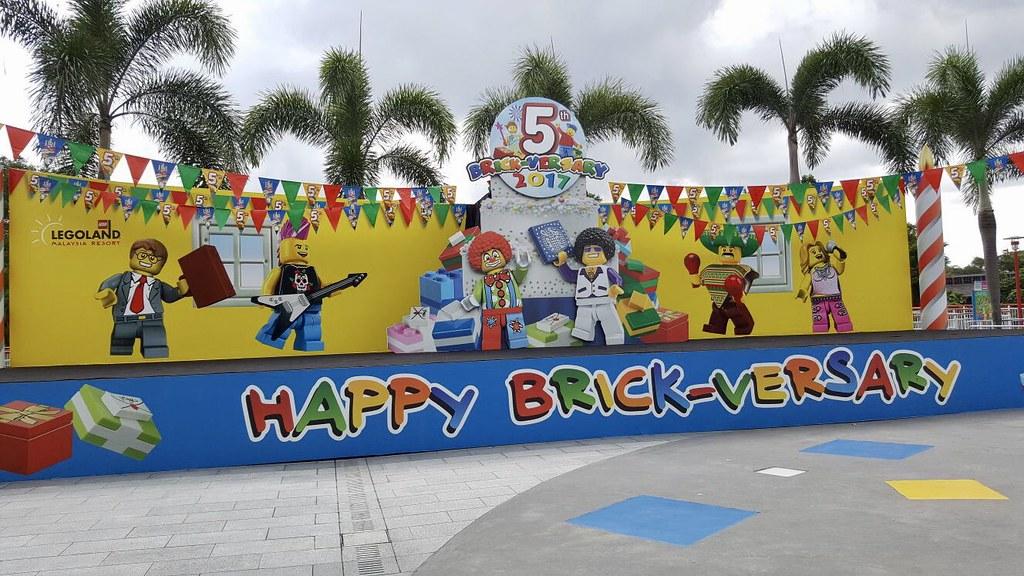 Legoland Malaysia Brick-versary