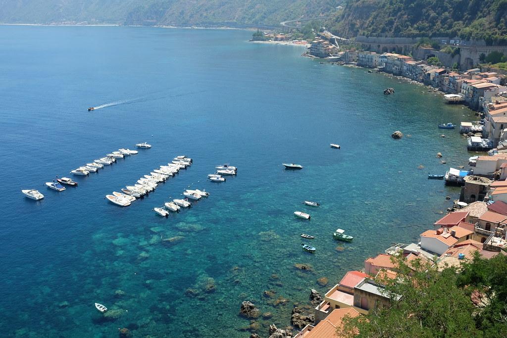 Boats east of Castello Rufo