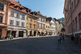Vijftig meter verder loop je zo het historische centrum in.