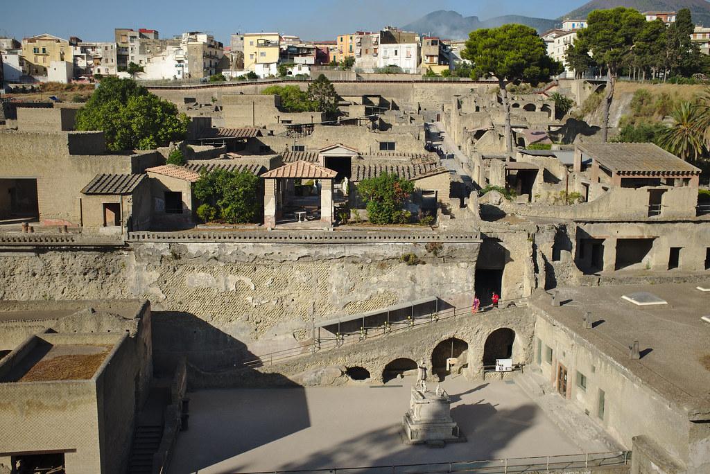 Herculaneum, looking northeast