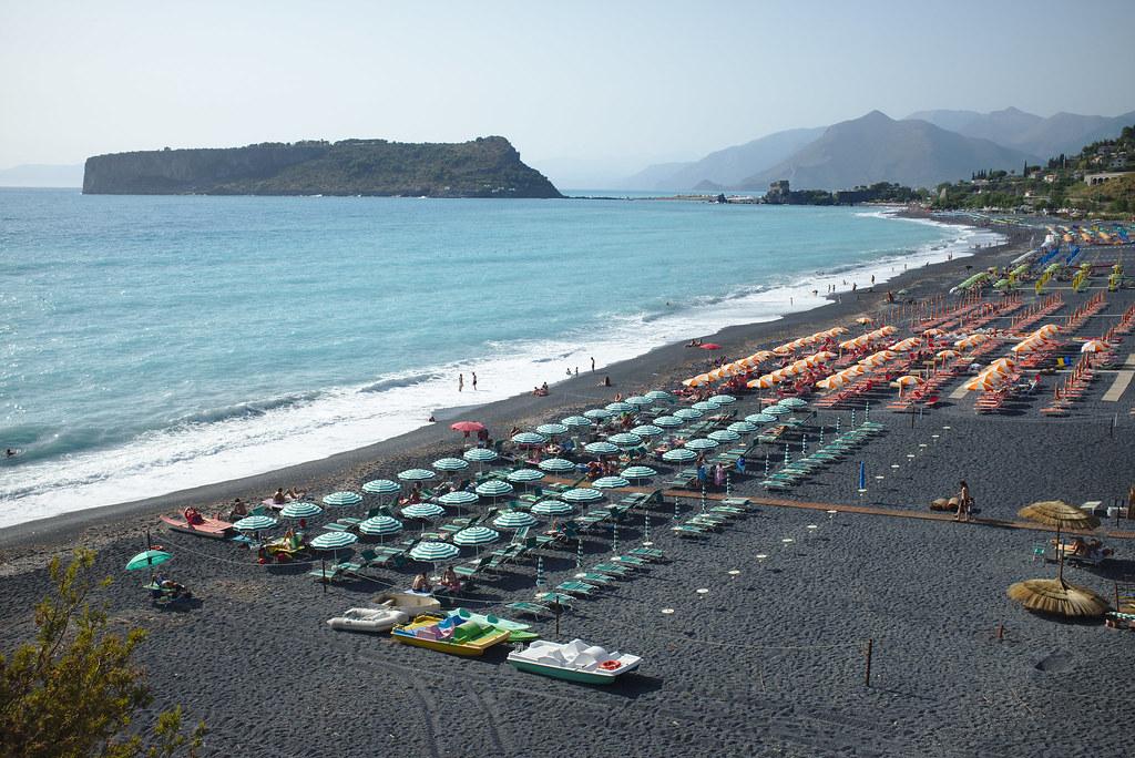 Beach south of Praia a Mare