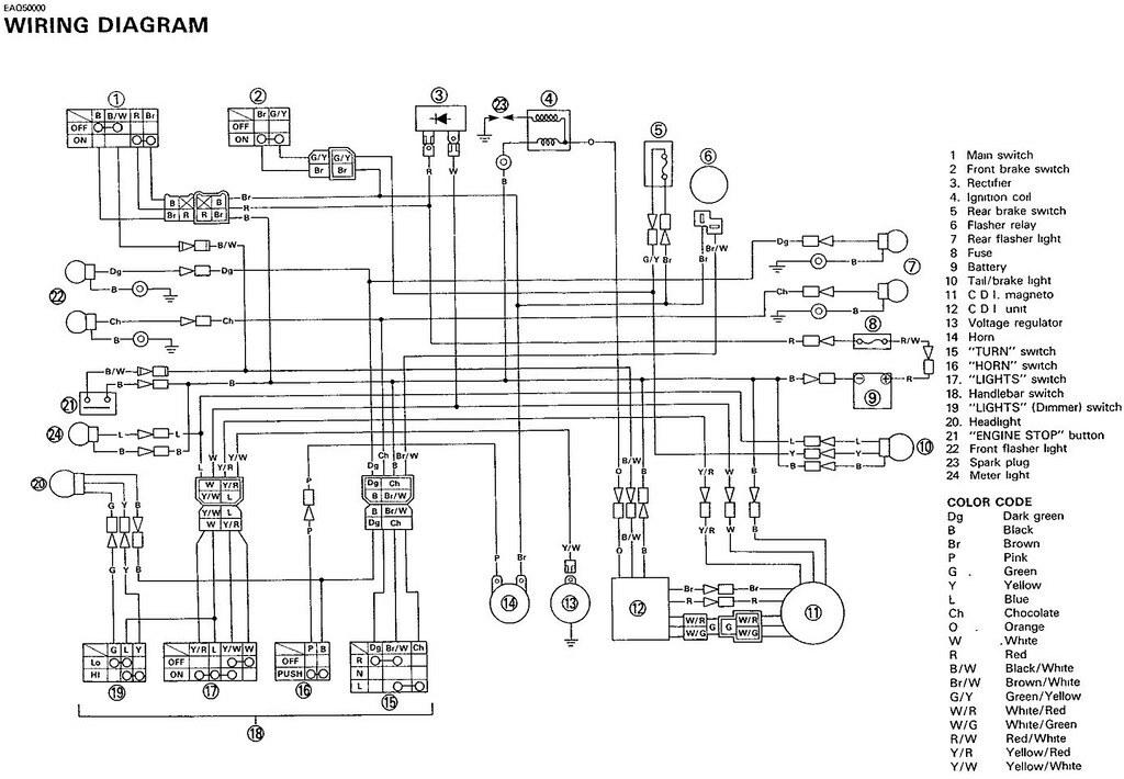 Elektroschaltplan Motor