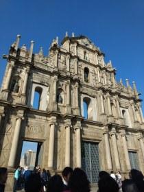 Ruins of St Paul