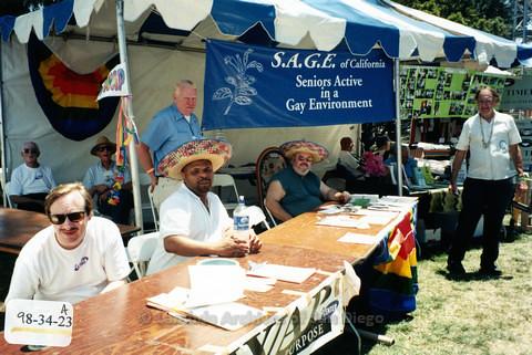 San Diego LGBTQ Pride Festival, 1998