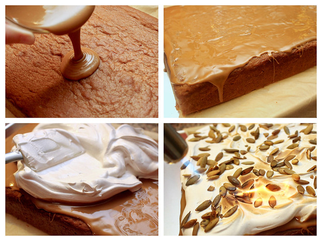 Pumpkin & Cookie Butter Sheet Cake - 50