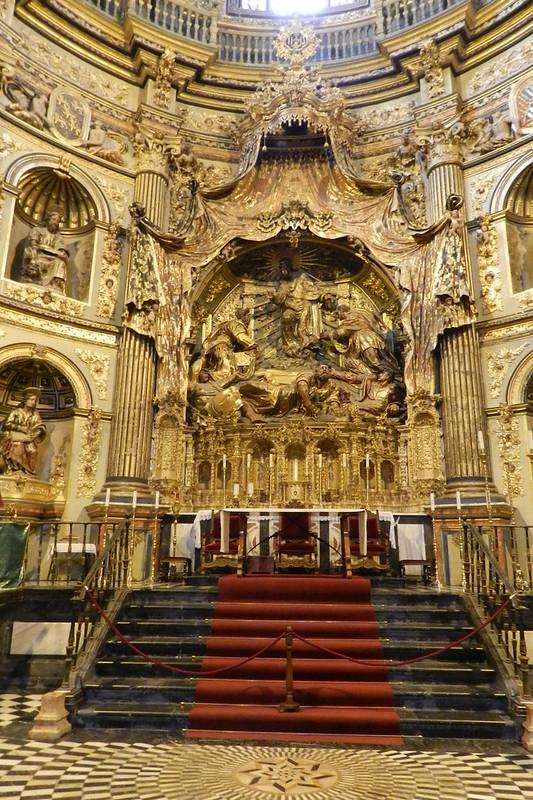 Ubeda Retablo mayor de Alonso Berruguete Sacra Capilla de El Salvador Jaen 08