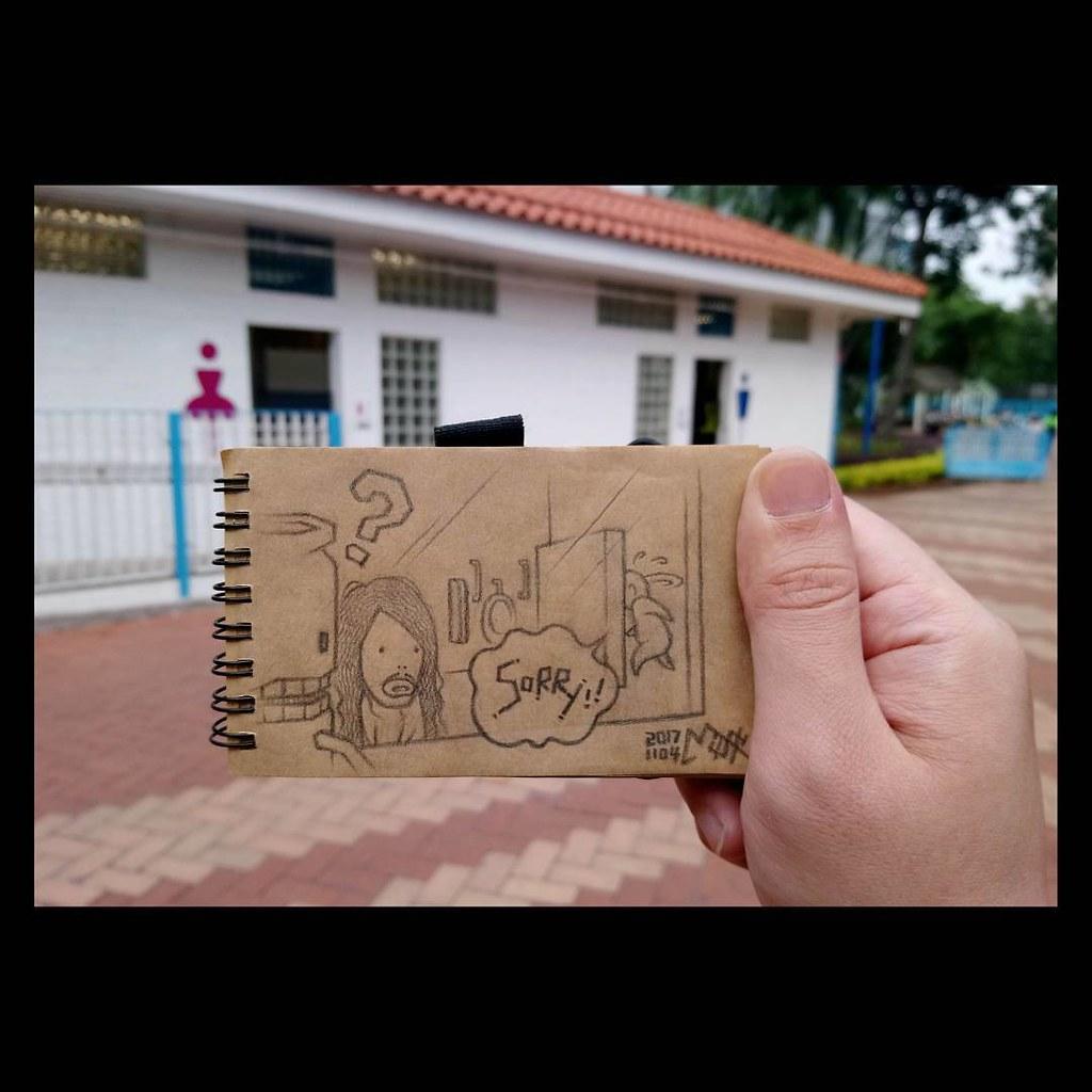 長髮男的煩惱 今個月已經第三次Fake咗麻甩佬以為自己入錯女廁,連我自己都漸漸開始懷疑… Created by Mi…   Flickr