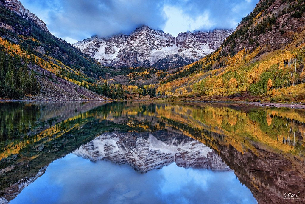 Video Wallpaper Hd Fall Royalty Maroon Bells Aspen Colorado Beautiful