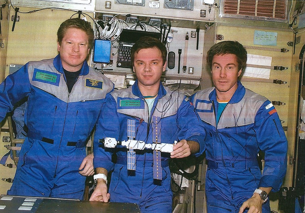 signatures Expedition-1 ISS
