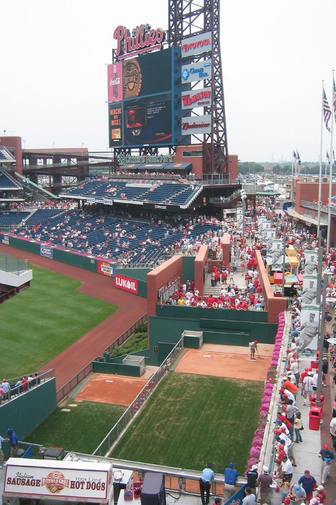 Citizens Bank Park Seating Chart : citizens, seating, chart, Citizens, Ashburn, Alley, Largest, Video, Flickr