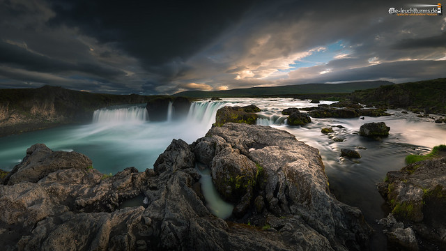 On top of Goðafoss