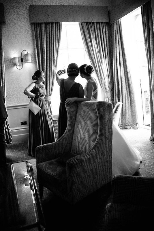 Leica Wedding Selfie