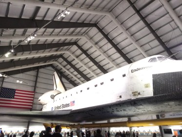 Space Shuttle Endeavour at the Space Center