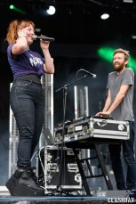 Sylvan Esso @ Shaky Knees Music Festival, Atlanta GA 2017