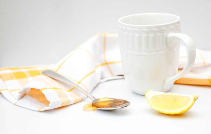 Honey With Lemon and Water