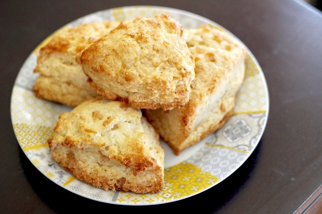 Sour Lemon Scones - 16