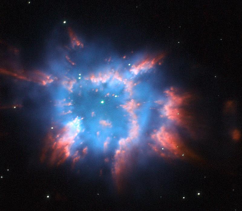 """Hubble's Holiday Nebula """"Ornament"""""""