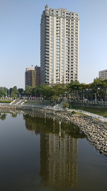 High-rise building at Love River