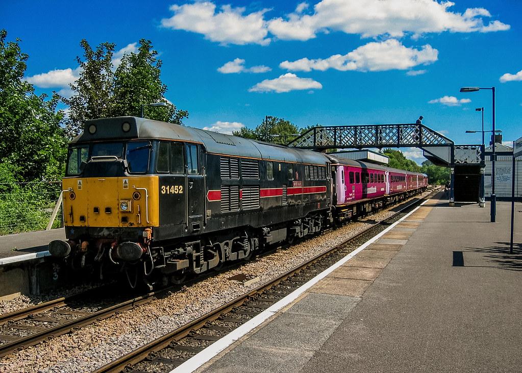 31452 Fragonset Wessex Trains Warminster 250604  Paul