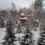 2018 01 19 The Epiphany. Kyiv. Kazan temple: Landscape
