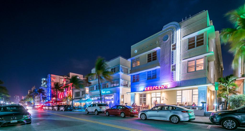 Miami Art Deco District Miami Beach Architectural