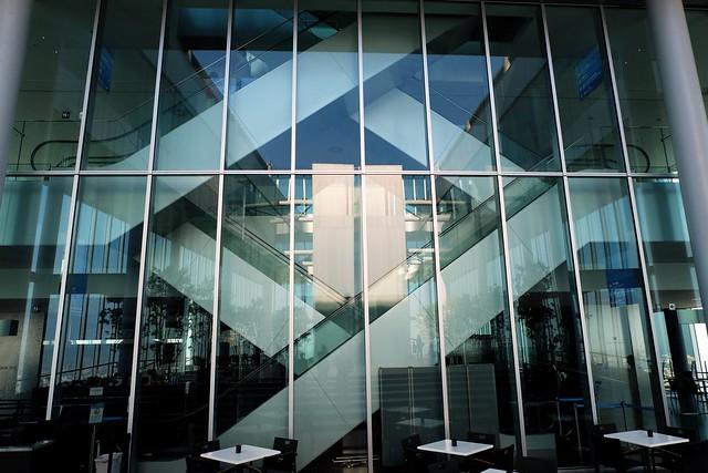 Escalators in a Diamond