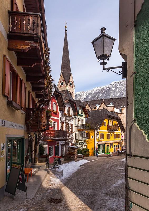 Colorful Hallstatt